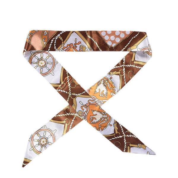 ツイリースカーフ トゥイリースカーフ バッグスカーフ バッグ用スカーフ プチスカーフ ハンドルスカーフ ロングスカーフ レディース 小物 持ち手 鞄|plusnao|13