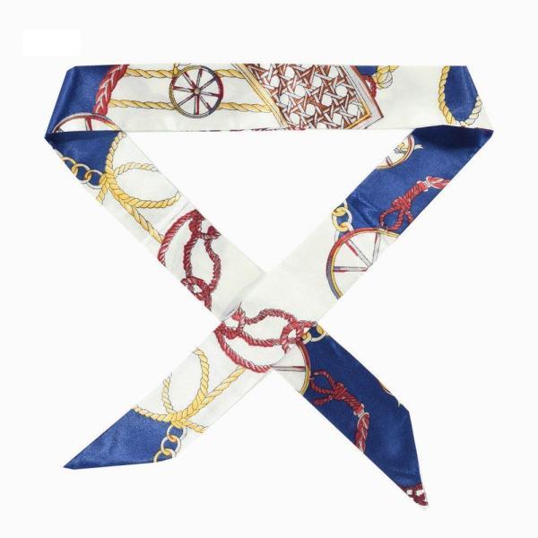 ツイリースカーフ トゥイリースカーフ バッグスカーフ バッグ用スカーフ プチスカーフ ハンドルスカーフ ロングスカーフ レディース 小物 持ち手 鞄|plusnao|15