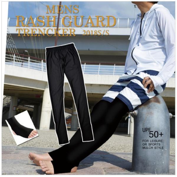 ラッシュトレンカ UPF50+ スイムトレンカ ラッシュガード 水着用 レギンスパンツ スパッツ ロング 日焼け対策 紫外線対策 UV対策 レディース|plusnao|05