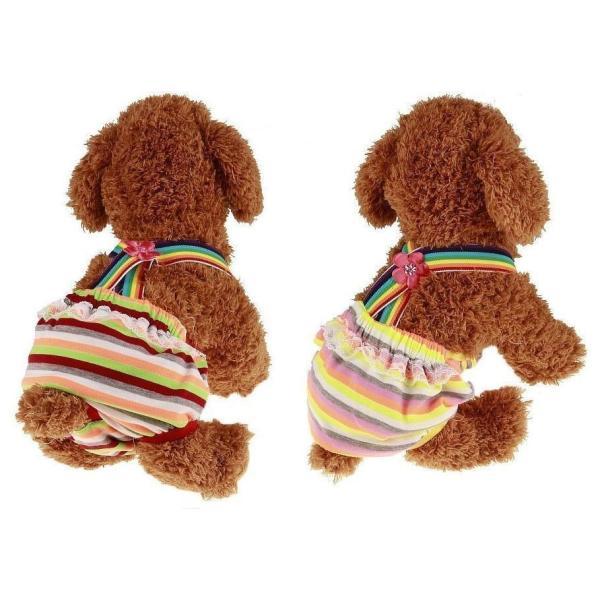 犬用マナーパンツ 犬用 サニタリーパンツ 犬用パンツ 犬用生理パンツ 犬用オムツカバー おむつカバー サスペンダー付き ドッグウェア ドッグウエア ず plusnao 03