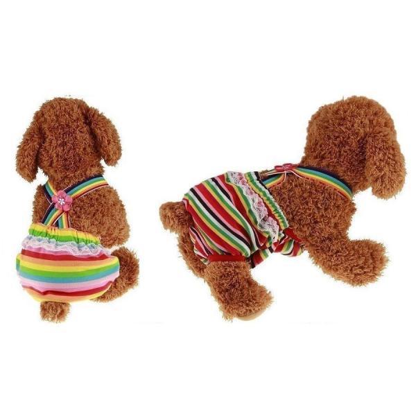 犬用マナーパンツ 犬用 サニタリーパンツ 犬用パンツ 犬用生理パンツ 犬用オムツカバー おむつカバー サスペンダー付き ドッグウェア ドッグウエア ず plusnao 04