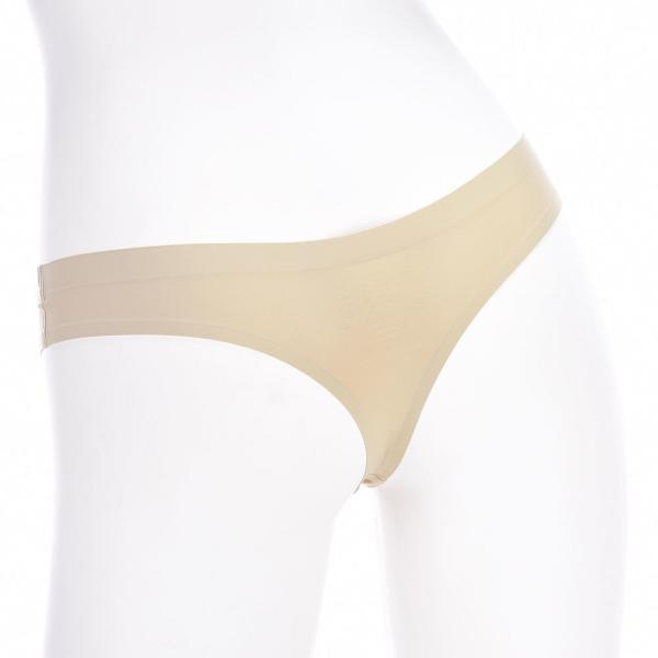 シームレスショーツ Tバックタイプ ショーツ 下着 インナーレディース 単品 パンツ パンティ 縫縫製速乾吸収ストレスフリーパンツ ヌーディーインナー plusnao 03