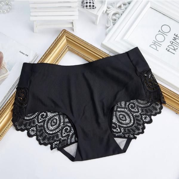 ショーツ パンツ シームレス スタンダード ノーマル バックレース レディース 自社生産 品質保証 全国送料無料 日本語洗濯表示 女性用 下着 ランジ|plusnao|08