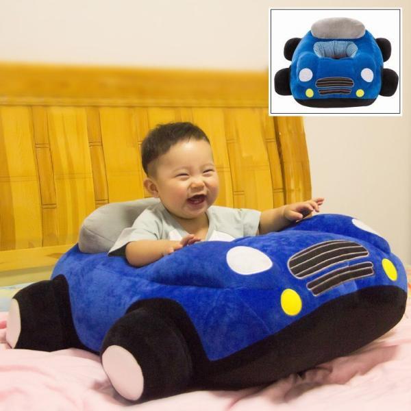 クッション 車 車モチーフ 座れる 乗れる おもちゃ キッズ 子供 ベビー 乳児 幼児 家具 椅子 座椅子 可愛い かっこいい おもしろい リビング|plusnao