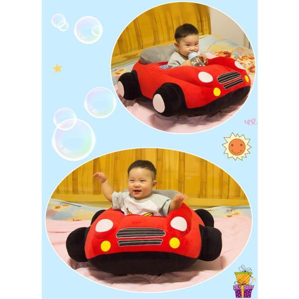 クッション 車 車モチーフ 座れる 乗れる おもちゃ キッズ 子供 ベビー 乳児 幼児 家具 椅子 座椅子 可愛い かっこいい おもしろい リビング|plusnao|02