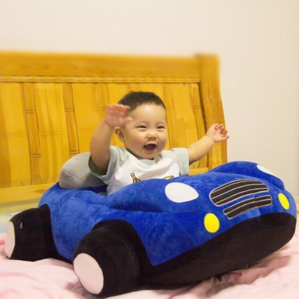 クッション 車 車モチーフ 座れる 乗れる おもちゃ キッズ 子供 ベビー 乳児 幼児 家具 椅子 座椅子 可愛い かっこいい おもしろい リビング|plusnao|12