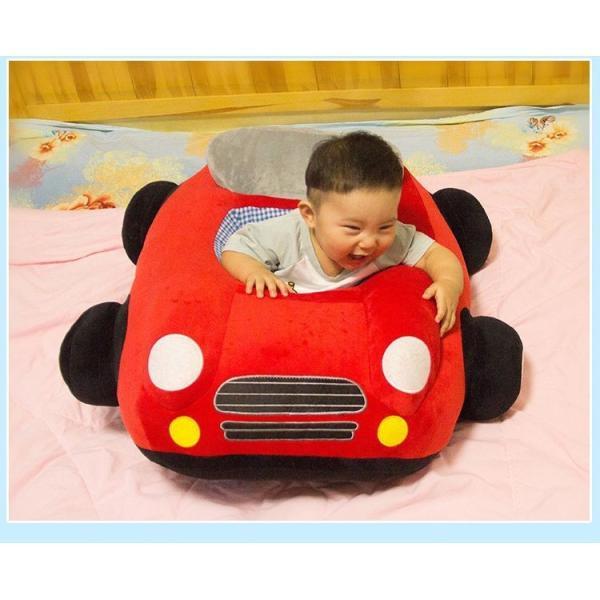 クッション 車 車モチーフ 座れる 乗れる おもちゃ キッズ 子供 ベビー 乳児 幼児 家具 椅子 座椅子 可愛い かっこいい おもしろい リビング|plusnao|16