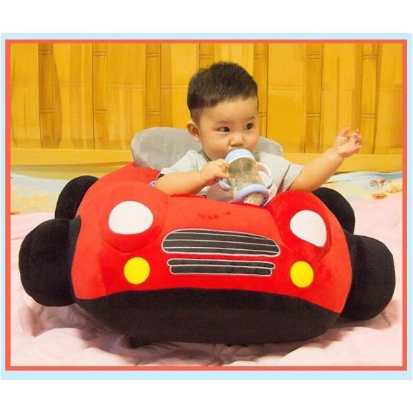 クッション 車 車モチーフ 座れる 乗れる おもちゃ キッズ 子供 ベビー 乳児 幼児 家具 椅子 座椅子 可愛い かっこいい おもしろい リビング|plusnao|17