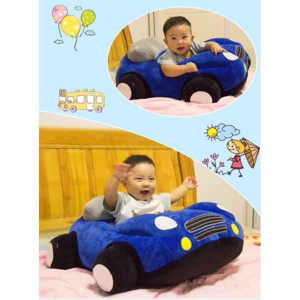 クッション 車 車モチーフ 座れる 乗れる おもちゃ キッズ 子供 ベビー 乳児 幼児 家具 椅子 座椅子 可愛い かっこいい おもしろい リビング|plusnao|03