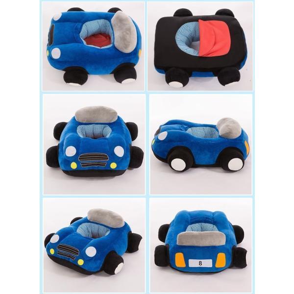 クッション 車 車モチーフ 座れる 乗れる おもちゃ キッズ 子供 ベビー 乳児 幼児 家具 椅子 座椅子 可愛い かっこいい おもしろい リビング|plusnao|07