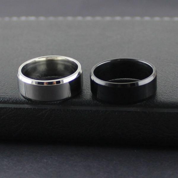 リング メンズリング 指輪 メンズ 男性 シンプル アクセサリー アクセ 鏡面 フラット 平打ちリング ファッションリング ファッション カッコイイ|plusnao|02