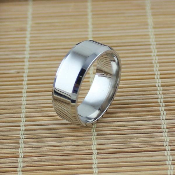リング メンズリング 指輪 メンズ 男性 シンプル アクセサリー アクセ 鏡面 フラット 平打ちリング ファッションリング ファッション カッコイイ|plusnao|13
