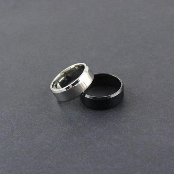 リング メンズリング 指輪 メンズ 男性 シンプル アクセサリー アクセ 鏡面 フラット 平打ちリング ファッションリング ファッション カッコイイ|plusnao|03