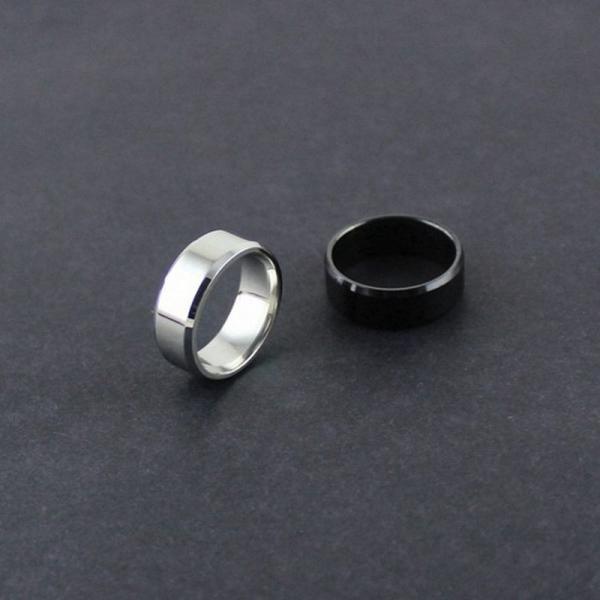 リング メンズリング 指輪 メンズ 男性 シンプル アクセサリー アクセ 鏡面 フラット 平打ちリング ファッションリング ファッション カッコイイ|plusnao|04