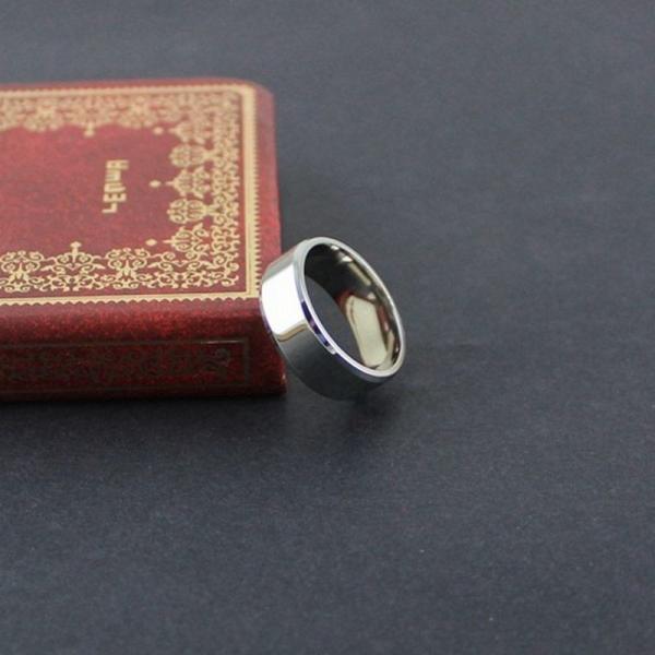 リング メンズリング 指輪 メンズ 男性 シンプル アクセサリー アクセ 鏡面 フラット 平打ちリング ファッションリング ファッション カッコイイ|plusnao|09
