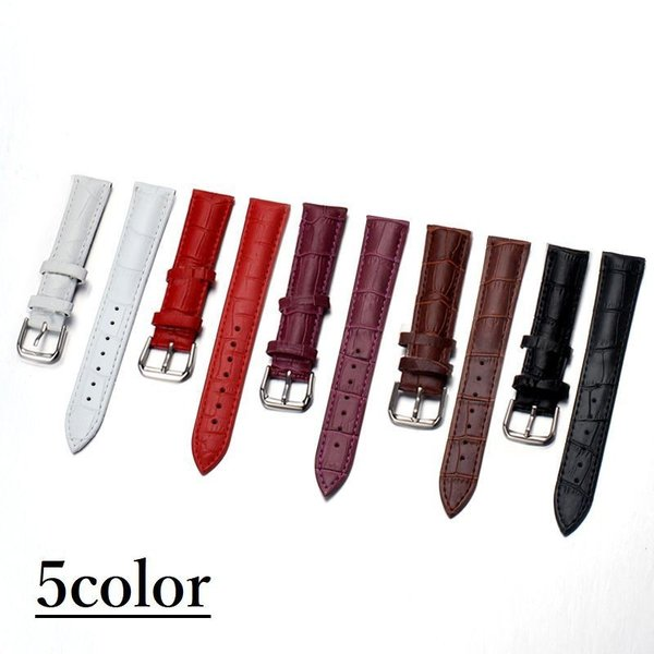腕時計ベルト腕時計用ベルト替えベルト替えバンドウォッチベルトフェイクレザー型押し男女兼用24mm22mm21mm20mm19m