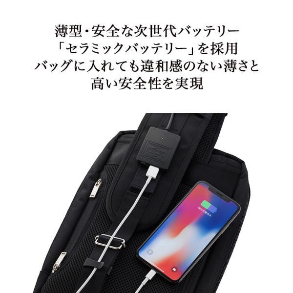 ポーター ショルダーバック PORTER SLING SHOULDER BAG × Power Leaf 次世代バッテリー 吉田カバン コラボ|plusstyle|06