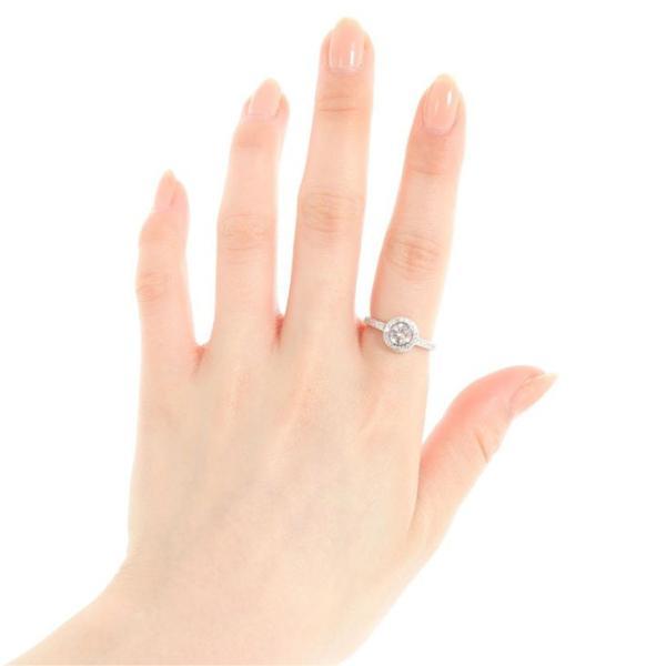 リング 指輪 レディース スワロフスキー 一粒 プラチナ 18金 ゴールド 仕上 SWAROVSKI ジルコニア 取巻き プレゼント ギフト