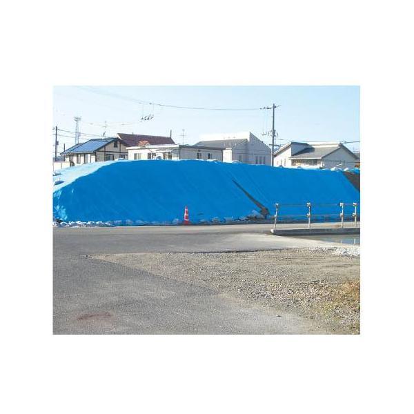ブルーシート (OSシート) #2500 5.4 × 5.4 m 萩原工業製 国産日本製 ツ化D