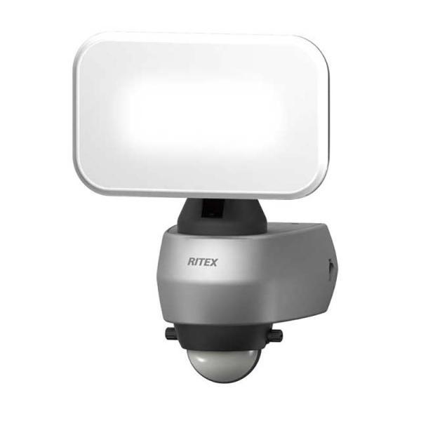 納期2週間程度 ムサシ RITEX LEDセンサーライト LED-AC309 9Wワイド 650LM 屋内 屋外 用 コンセント式 福KH