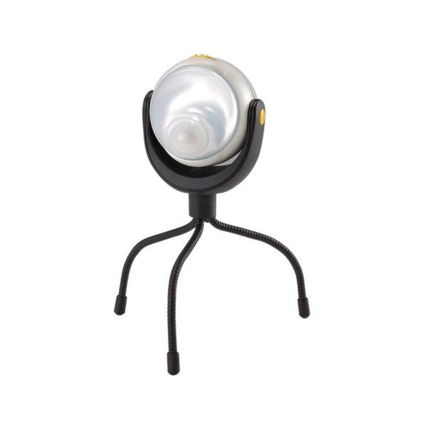 納期2週間程度 ムサシ RITEX どこでもセンサーライト ASL-090 高輝度 1W LED 三脚付 屋内 屋外 用 乾電池式 福KH