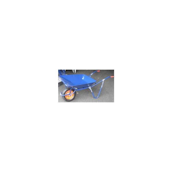 離島配送不可 大型配送 一輪車 ネコ (農業用 園芸用) -鉄製 2才積 浅型 シN直送