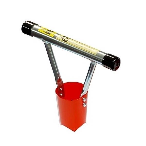 ホーラーミニ H65M 小型植穴あけ器 マルチ穴あけ ハンディタイプ 定植 家庭菜園 ガーデニング サンエー 代引不可