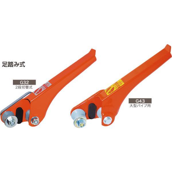 パイプ 抜き パイプステップ G32 19.1-31.8mm 管用 足踏み式 パイプハウス 管 支柱 抜き 挿し サンエーZ