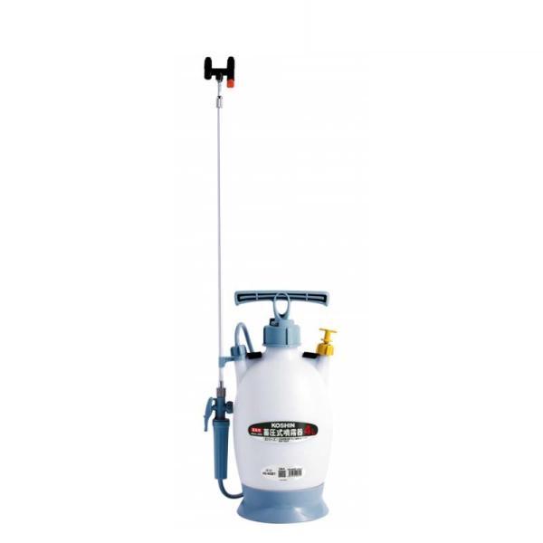 蓄圧式噴霧器 ミスターオート HS-403BT 容量4L 伸縮2段2頭口 ノズル長さ最長150.5cm 延長パイプ付 重量1.6kg 工進 KOSHIN 消毒 散布 シB 代引不可