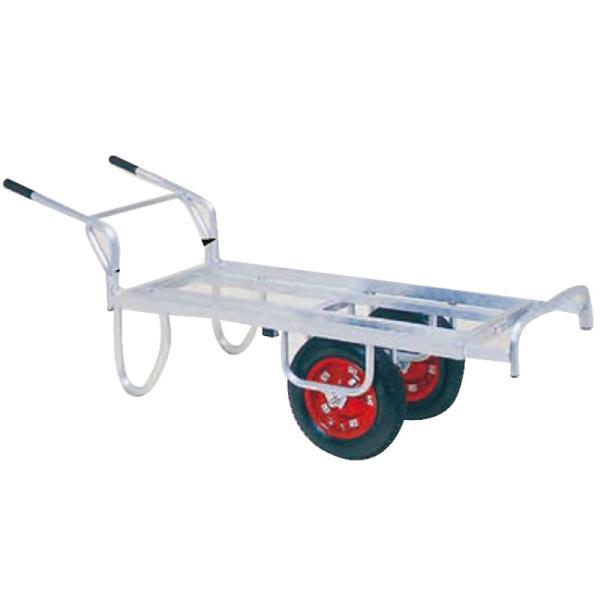 運搬車 コン助 アルミ製 平形二輪車 CN-65DW 一輪車に付け替え可能タイプ ハラックス 防J 代引不可 個人宅配送不可 離島配送不可