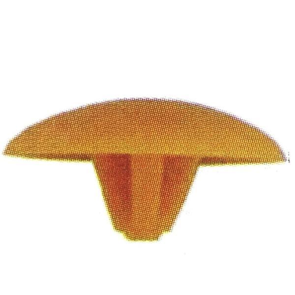 ビスキャップ 十字穴 2番 Sタイプ S68 茶 プラC箱 ビス穴隠し ダンドリビス アミD