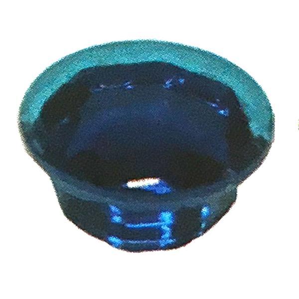 ビスキャップ クリスタル ガラス エメラルドグリーン プラ8号箱 (600個入/1ケース)  ビス穴隠し ダンドリビス アミD