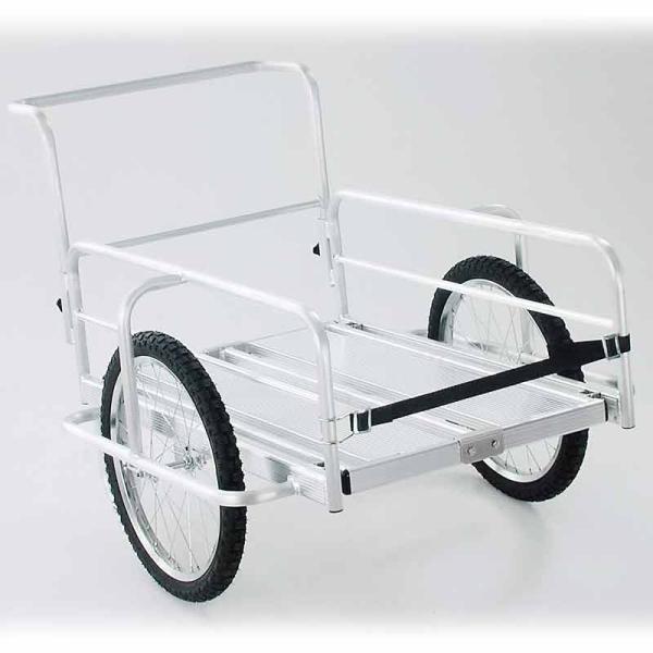 アルミ 折りたたみ式 リヤカー OR-10 コンテナ 積 台車 運搬車 林業 園芸 現場 造園 HONKO 代引不可