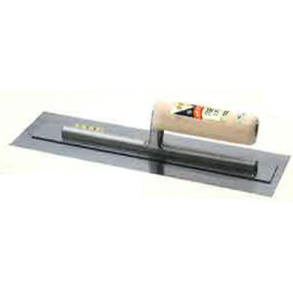 土間仕上げ コテ 本焼ハイボンド洋角鏝 105x390mm 板厚:0.3mm 鏝 左官 カネミツ 代引不可