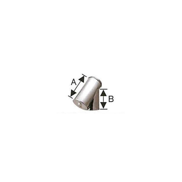 溶接シングル煙突 断熱材入り 二重 T曲 135度 直径150x200 No.501113017 煙突 部材 ホンマ製作所 T野D