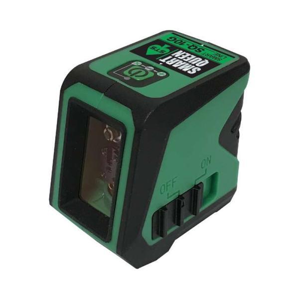 グリーンレーザー墨出器 SJ-10G 精度 水平 垂直 +-1mm/5m コンパクト STS AL 代引不可