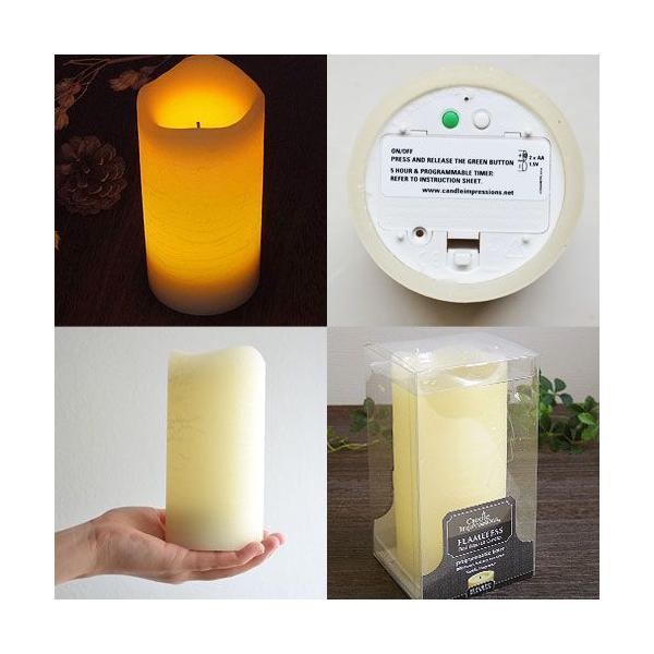 Flameless Candles CAT65600 フレイムレスキャンドル Lサイズ [タイマー付き]  あすつく対応 plywood 03
