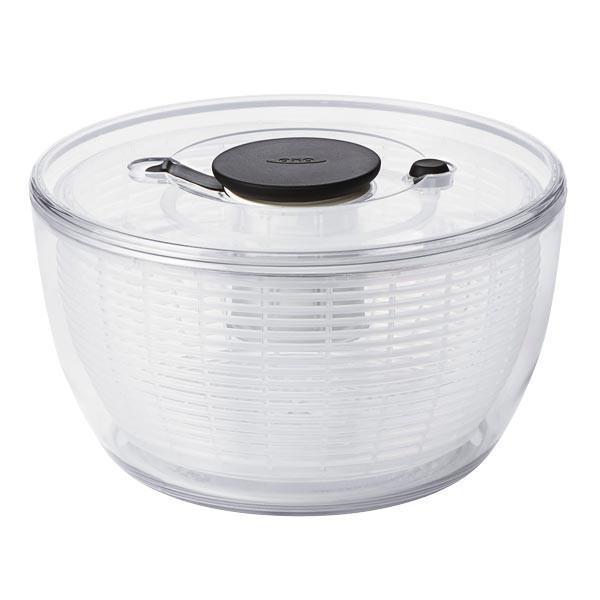 【OXO】 Clear Salad Spinner オクソー クリア サラダスピナー [ L ] plywood 02