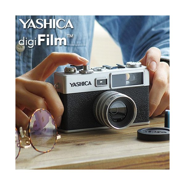 YASHICA ヤシカ デジフィルムカメラ Y35 digiFilm1本付 YAS-DFCY35-P38