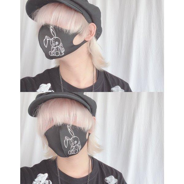 オリジナルプリント3D立体フェイスマスク 返品交換不可/1点のみメール便可能/ff0004/113n|pmcorporation|06
