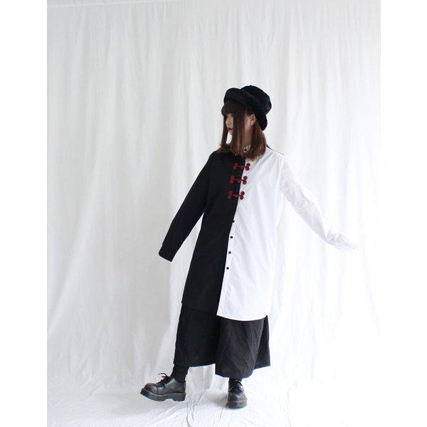 ファンキーフルーツ F.F.T collection チャイナボタンロングシャツトップス/メール便不可/ttp1480/07n|pmcorporation|14