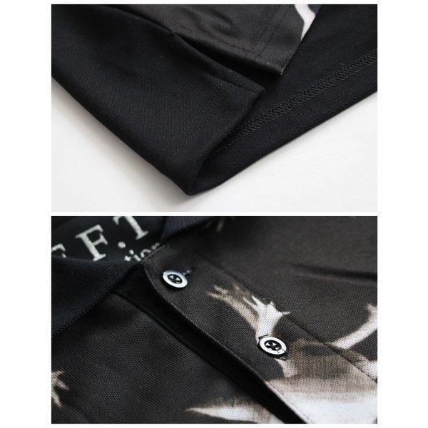 先行予約▼/ファンキーフルーツオリジナル Axolotl ウーパールーパー総柄風フルグラフィック ポロシャツ/1点のみメール便可能/ttp1550-7/07n pmcorporation 14