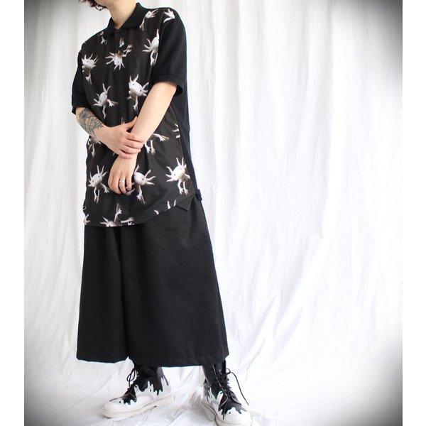 先行予約▼/ファンキーフルーツオリジナル Axolotl ウーパールーパー総柄風フルグラフィック ポロシャツ/1点のみメール便可能/ttp1550-7/07n pmcorporation 03