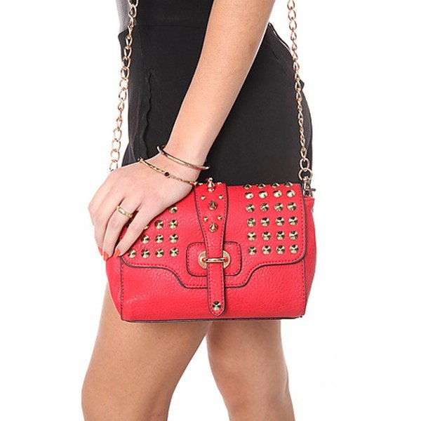 Urban Expressions The Vixen Bag in Red レディースバッグ