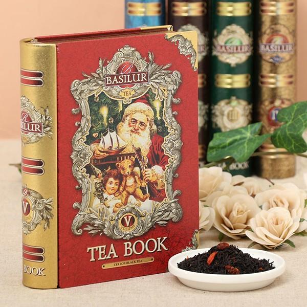 BASILUR TEA バシラーティー Tea Book Collection セイロンティー vol.5 (茶葉100g入り)×6個セット ギフト 紅茶 pmf3com