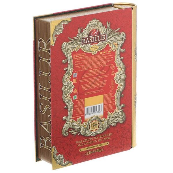 BASILUR TEA バシラーティー Tea Book Collection セイロンティー vol.5 (茶葉100g入り)×6個セット ギフト 紅茶 pmf3com 03