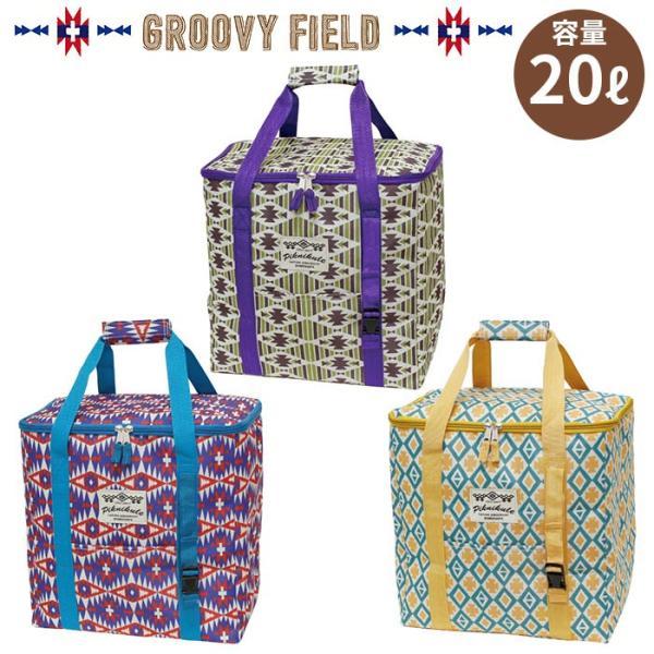 保冷バッグ 大容量 20L グルービーフィールド クーラースクエアートールバッグ|pocchione-kabegami