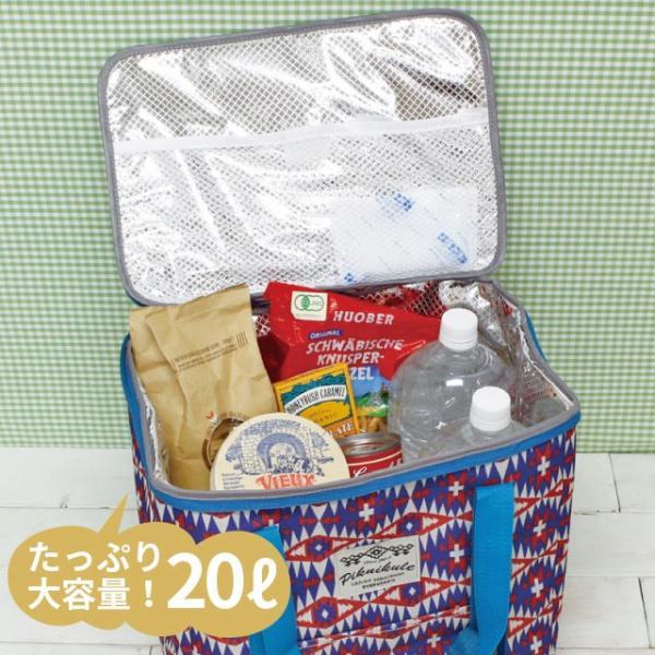 保冷バッグ 大容量 20L グルービーフィールド クーラースクエアートールバッグ|pocchione-kabegami|02