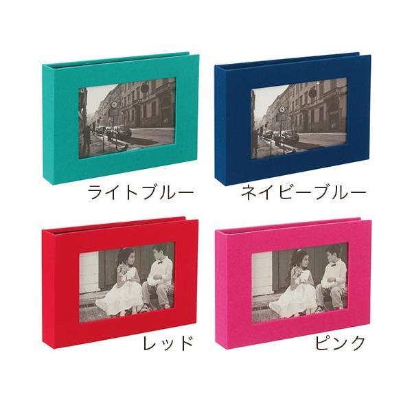 フォトアルバム ハーパーハウス フレームポケットアルバム 40ポケット/1段ポケット セキセイ (L判サイズ対応)|pocchione-kabegami|02