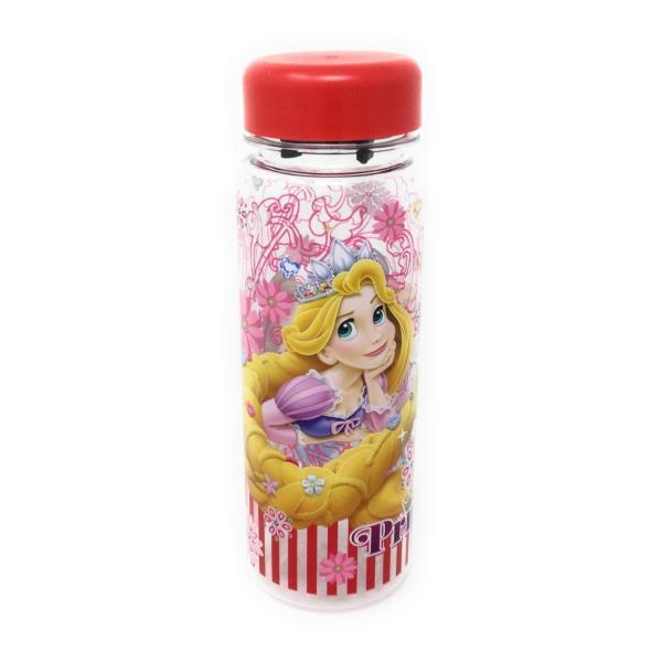 ディズニープリンセス ウォーターボトル(レッド)水筒 プラスチック 4589617963657 キャラクター グッズ メール便OK|poccl